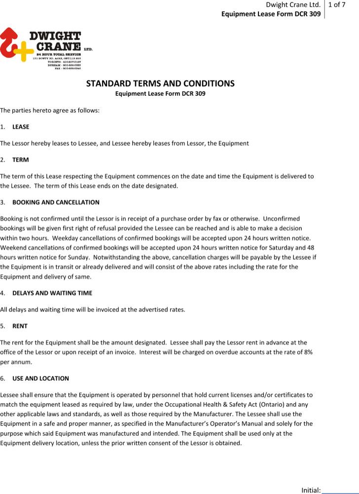 Neurodiagnostic Equipment Leasing Agreement