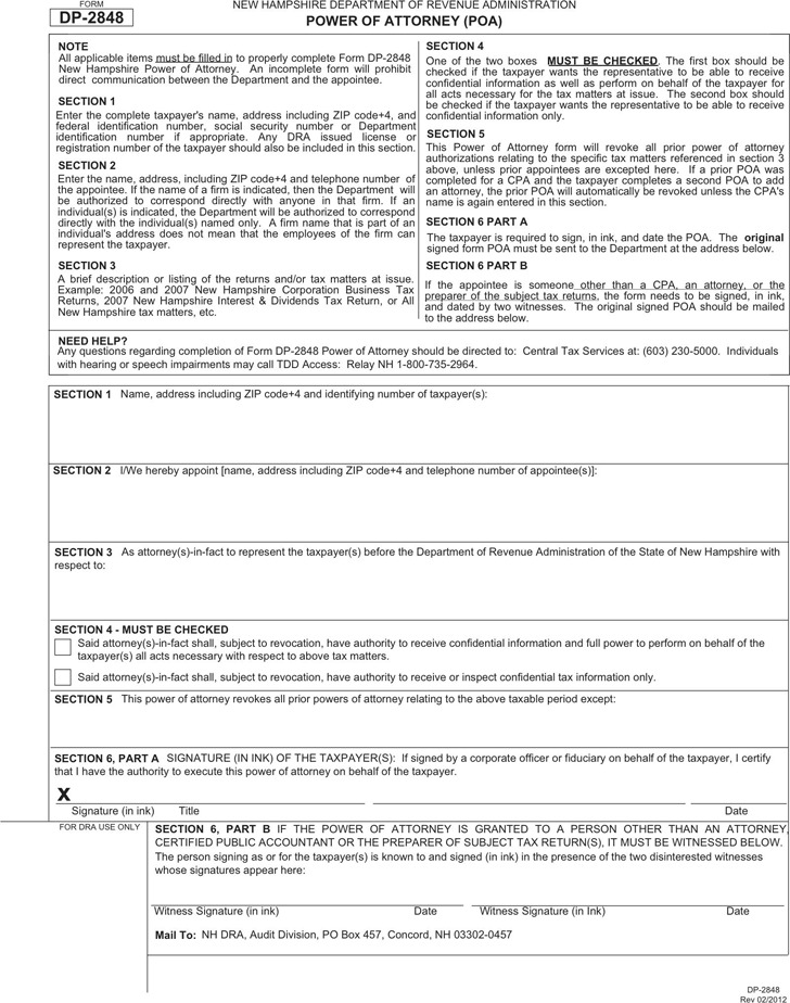 1 New Hampshire Bill Of Sale Form Free Download