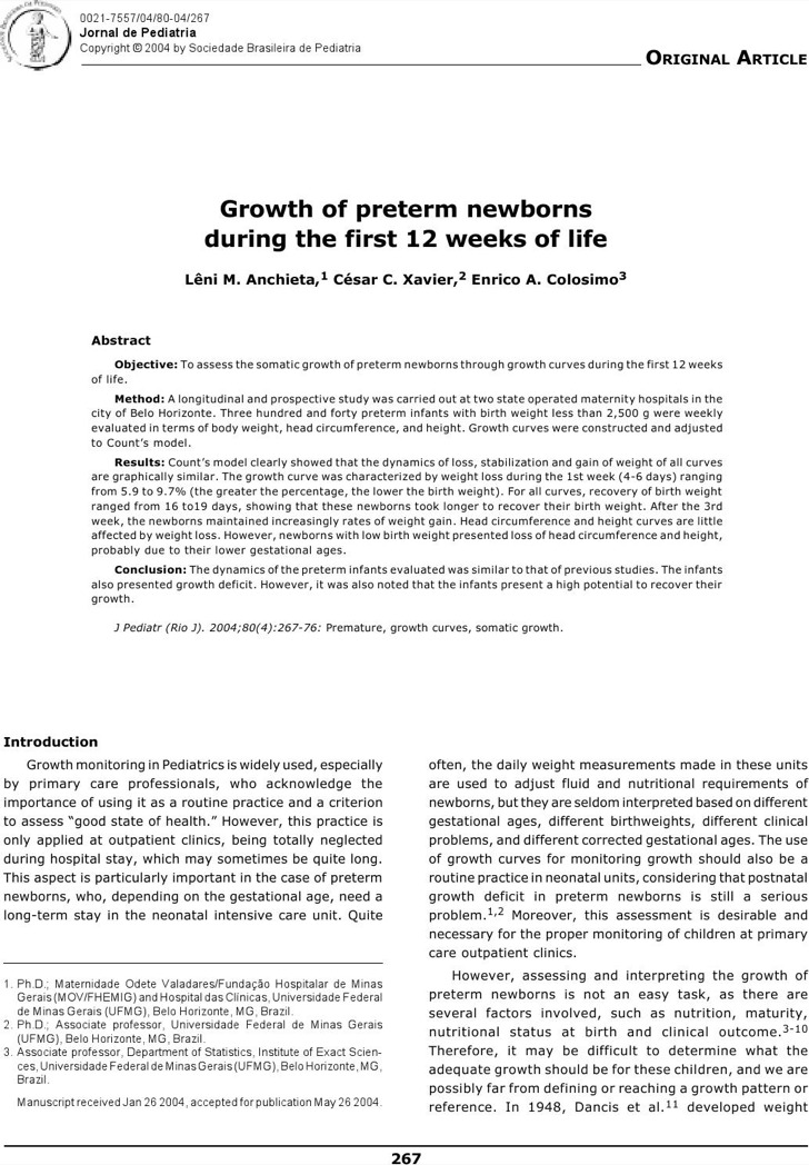 Newborn Baby Growth Chart Week By Week