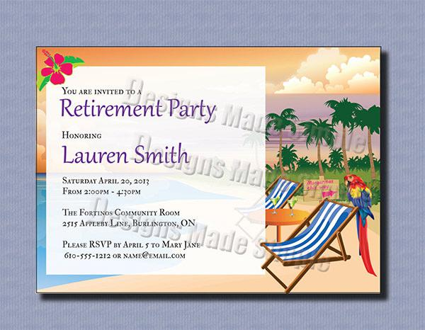 Nice Retirement Party Invitation Template