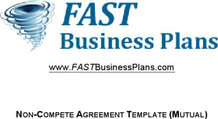 Non Compete Agreement Between Businesses