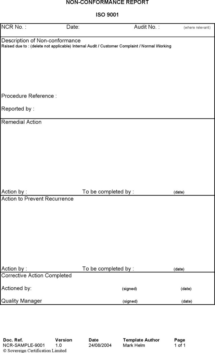 26 Report Templates Free Download