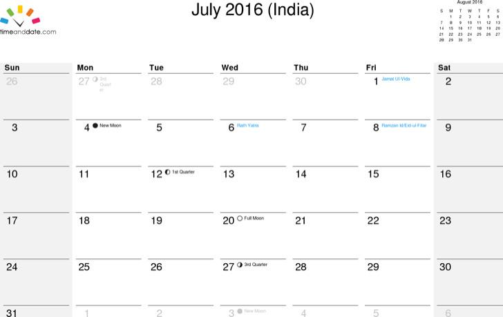 Office Vacation Calendar Template