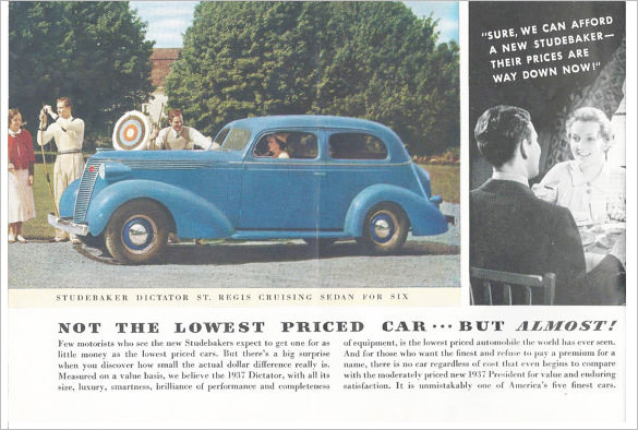 Old Car Brochure Project