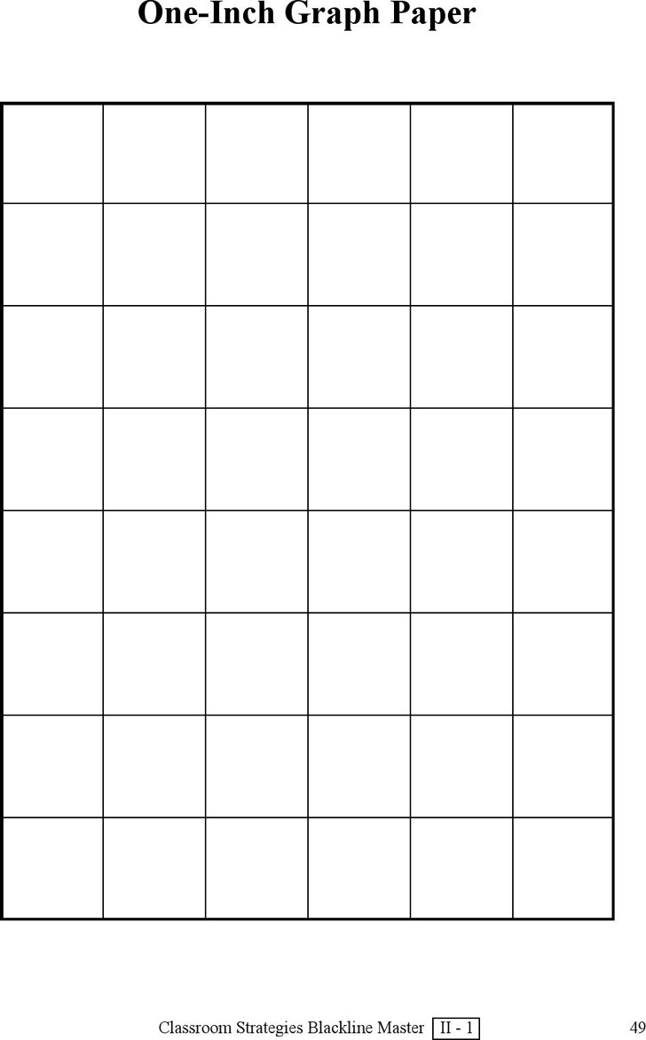 3 1 inch graph paper free download