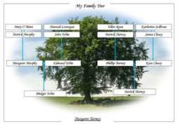 Online Editable Blank Family Tree