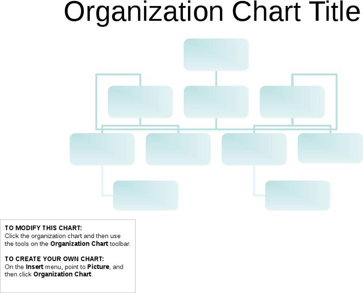 Organizational Chart (Basic Layout) 2