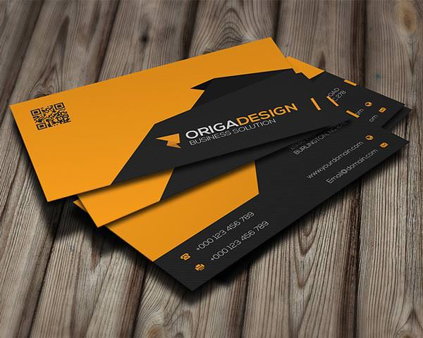 Origa Corporate Business Card