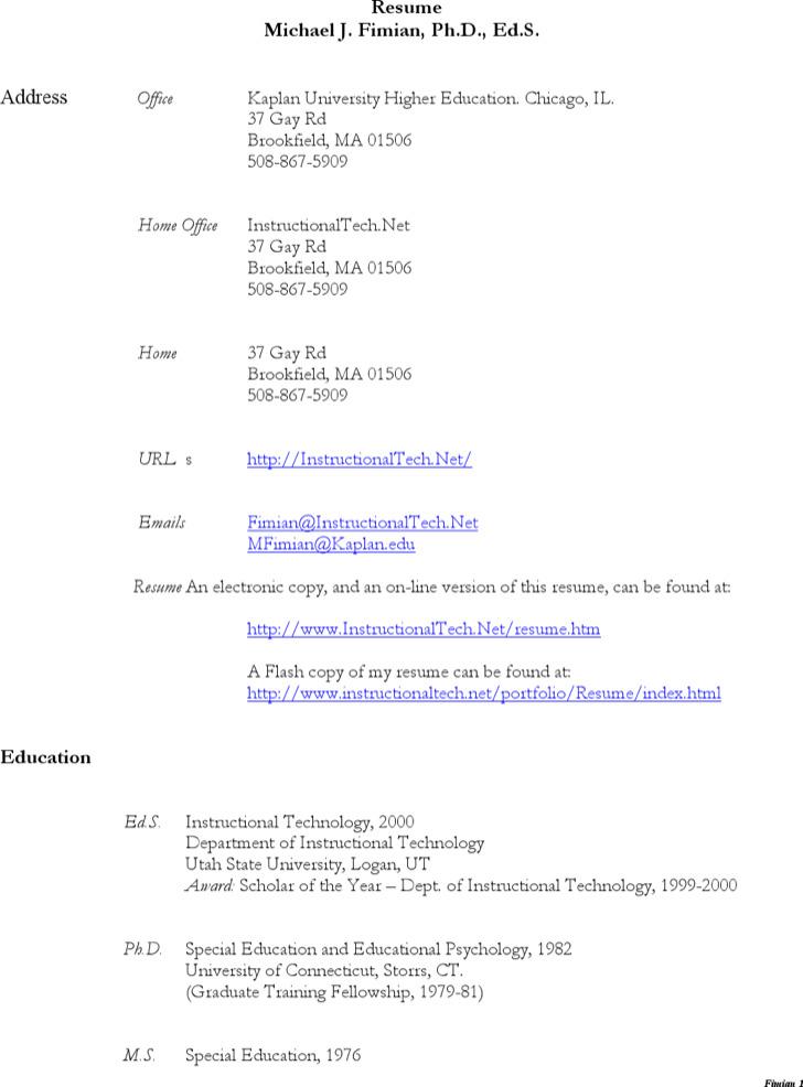 Paraeducator Resume Sample