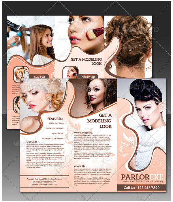 Parlour Tri Fold Brochure