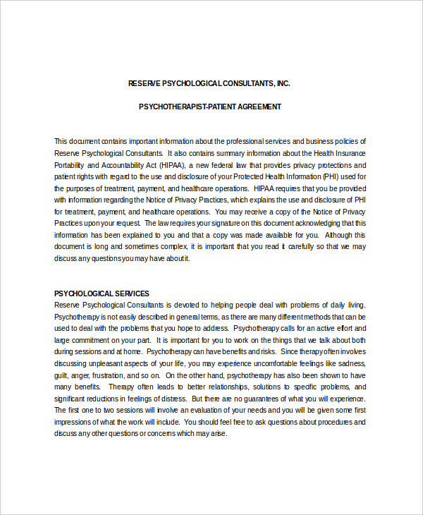 10 Patient Confidentiality Agreement Templates Free Download