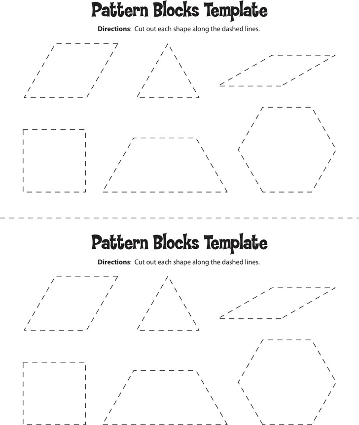 Pattern Block Template 2