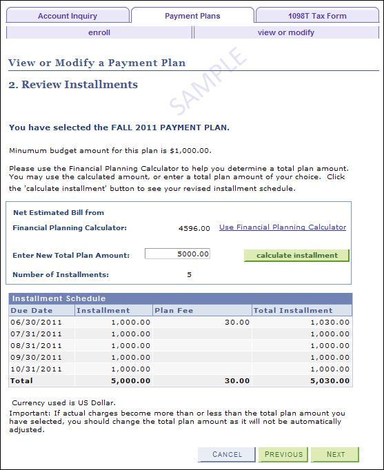 Payment Plan Agreement Templates