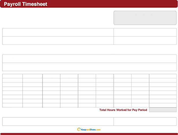 3 payroll timesheet template free download