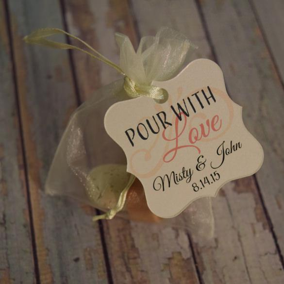Personalized Custom Gift Tag Template Download