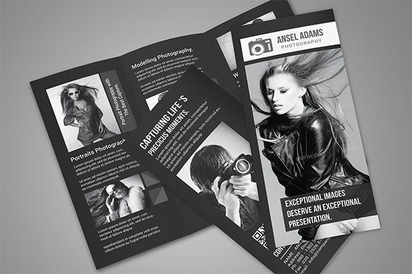 Photography Photoshop Tri Fold Brochure