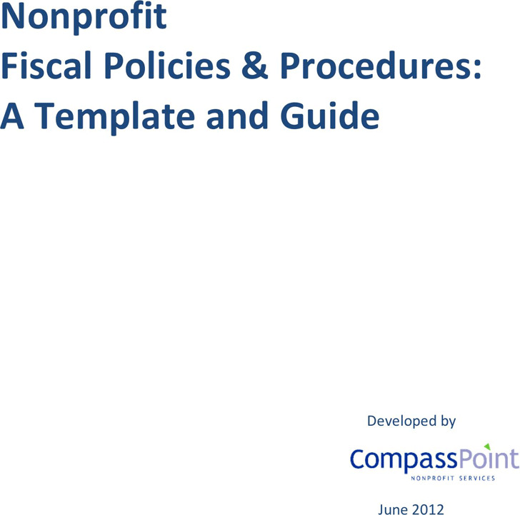 Fiscal Policies and Procedures