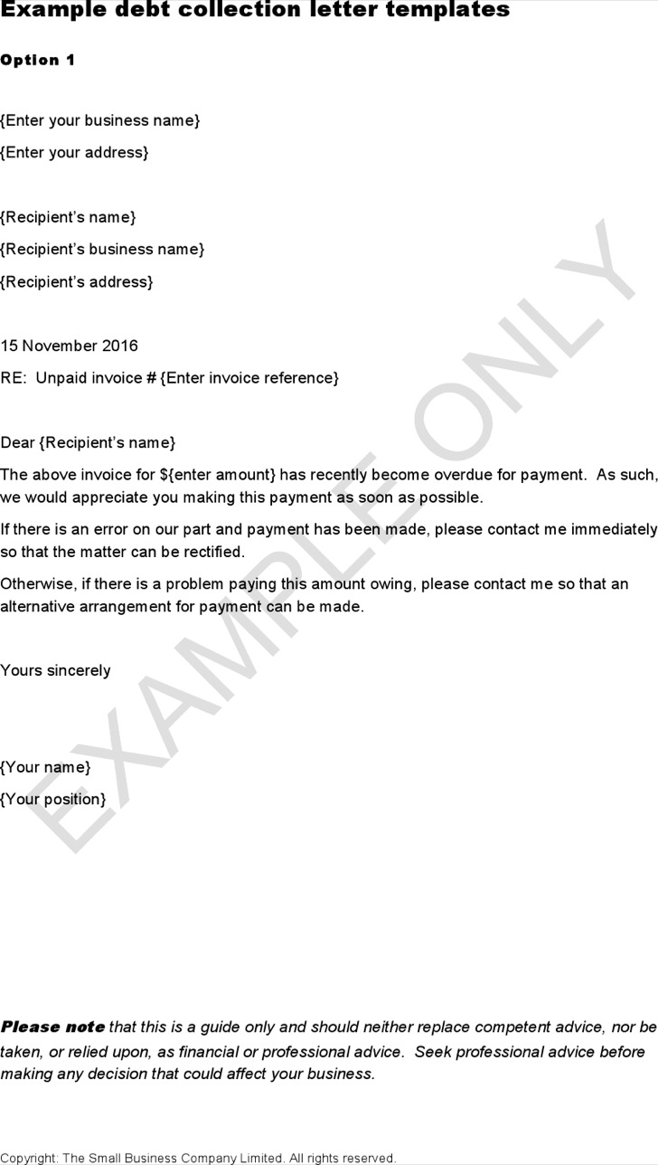 Polite Overdue Invoice Letter