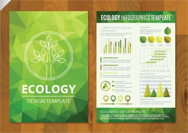 Polygonal Eco Brochure Template