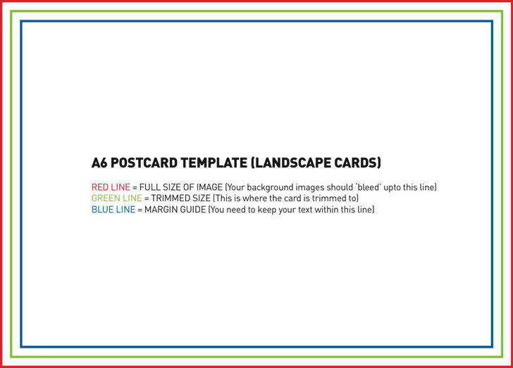 Postcard Template 2