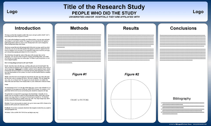 Download powerpoint poster templates for free tidytemplates powerpoint scientific research poster template 36 toneelgroepblik Gallery