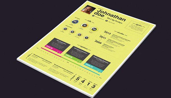 Print Ready Resume Templates with Creative Flare