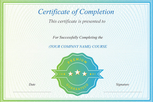 Printable Award Certificate Template Download
