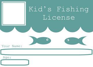 Printable Blank Check Template for Kids