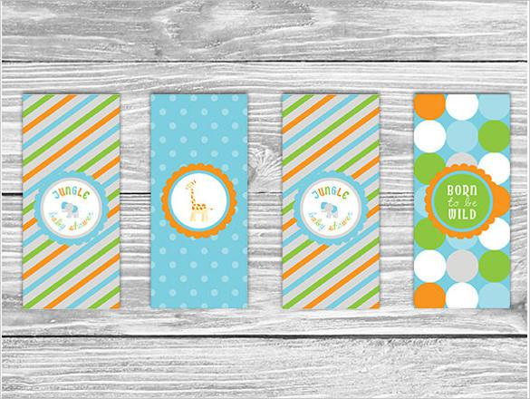 Printable Mini Candy Wrappers Template Download