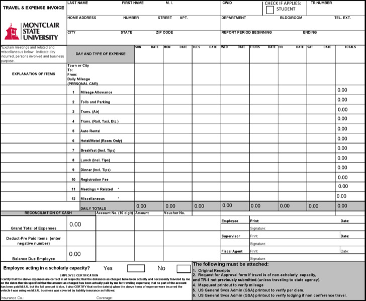Travel Invoice | Download Travel Invoice Templates For Free Tidytemplates
