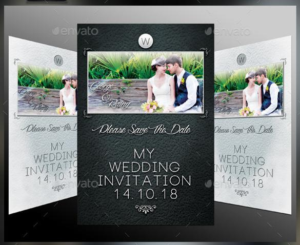Printable Wedding Invitation Template For Download2