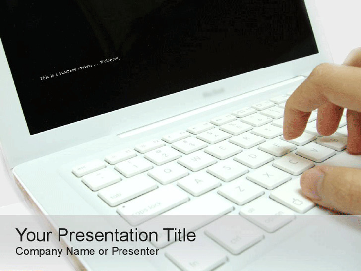 Professional Powerpoint Template 1