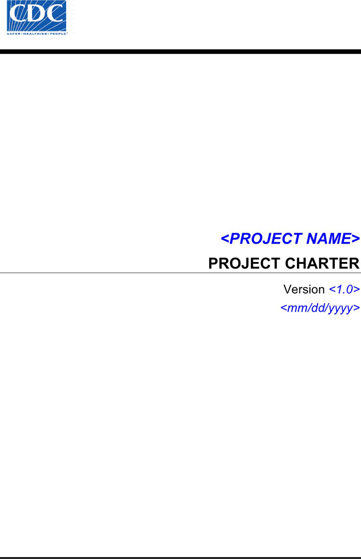 Project Charter Template 2