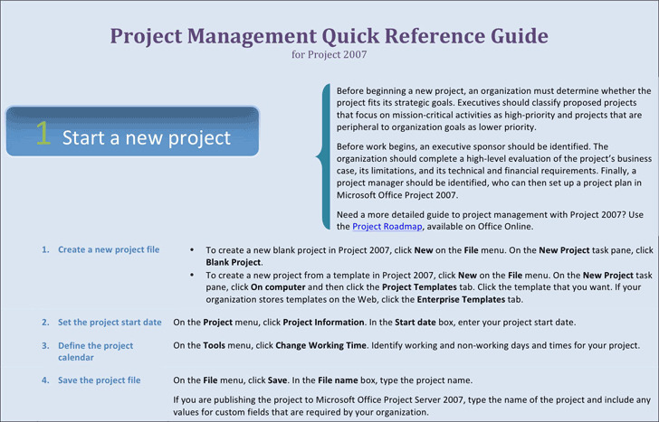 Project Management Template 1