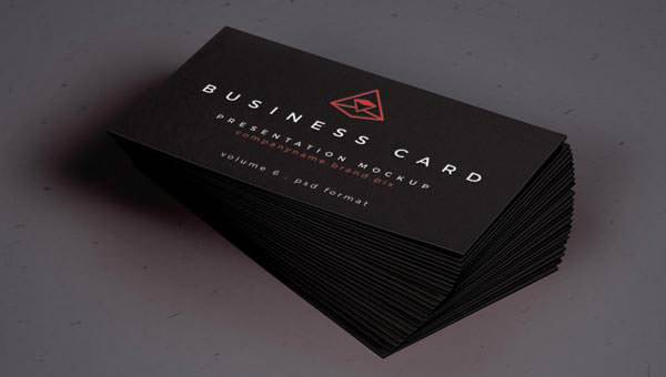 Psd Business Card Mock Up