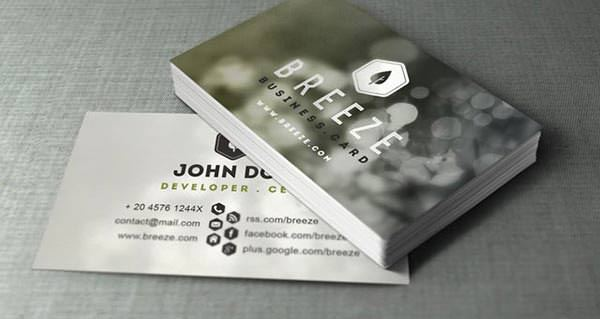 Psd Corporate Business Card Vol 6