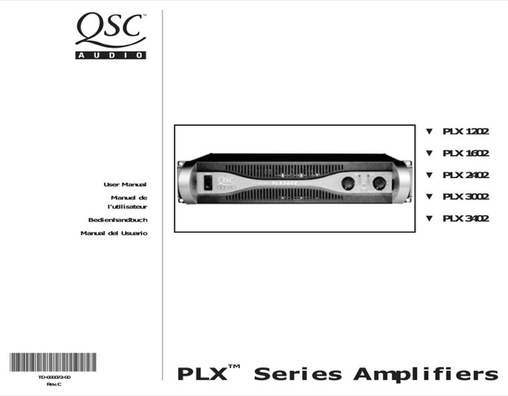 QSC User's Manual Sample