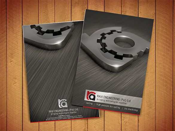 Rav Corporate Brochure design