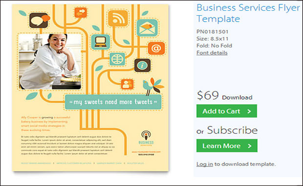 Readymade Design Templates- Business Services