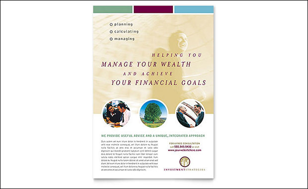 Readymade Design Templates- Financial Planning and Consulting