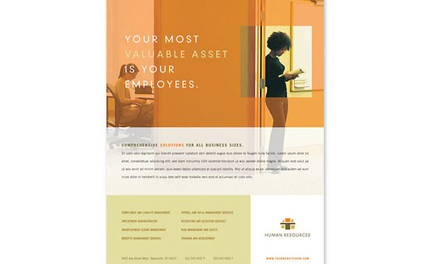 Readymade Design Templates- HR Consulting