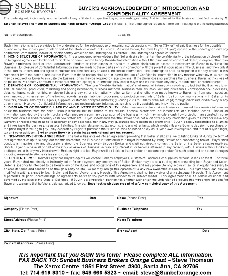 Download Confidentiality Agreement Templates For Free Tidytemplates