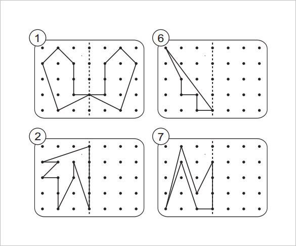 7 reflective symmetry worksheet templates free download. Black Bedroom Furniture Sets. Home Design Ideas