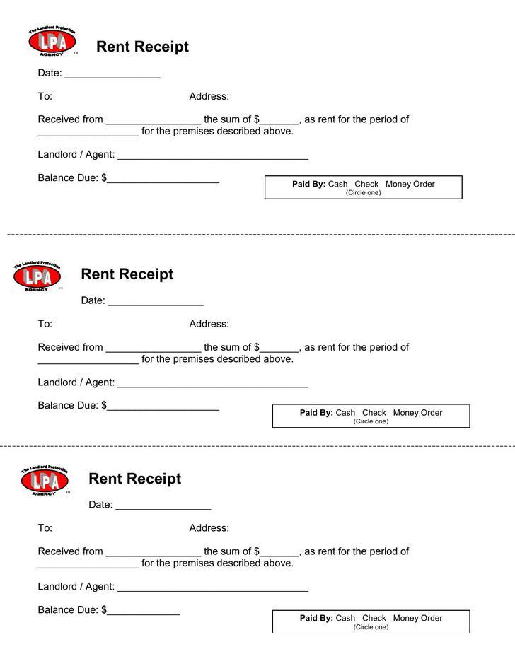 Rent Receipt Free Download