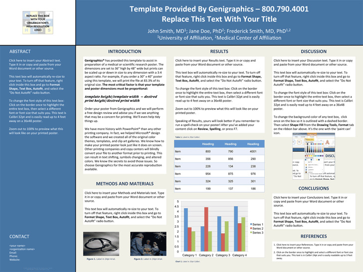 Research Poster Template With Abstract Sidebar (48*36)