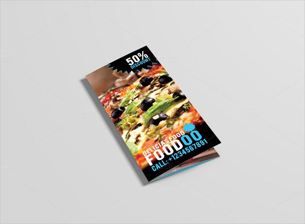 Restaurant Folded Brochure