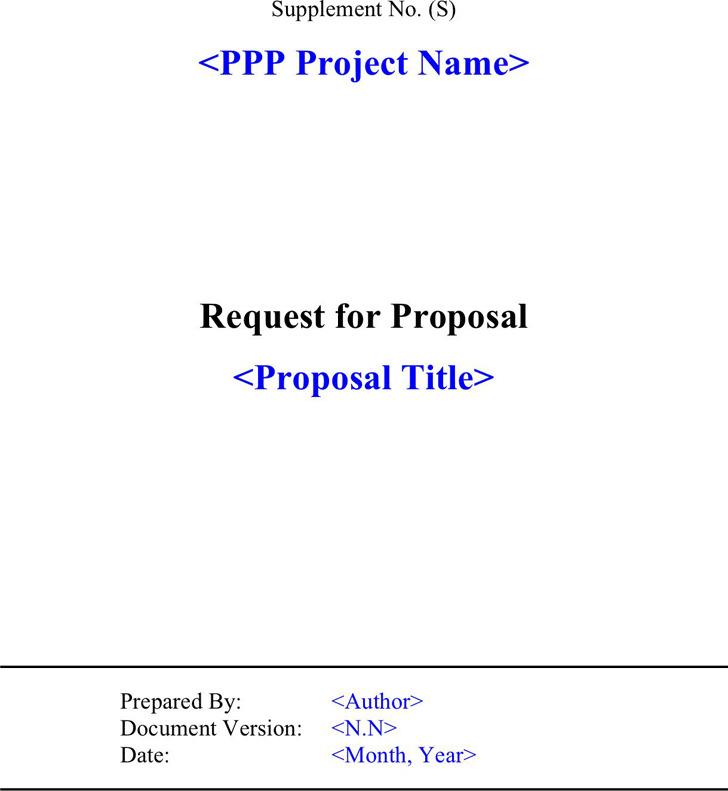 RFP Template 1