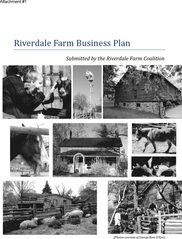 Riverdale Farm Business Plan