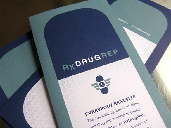 RxDrugRep Brochure Template