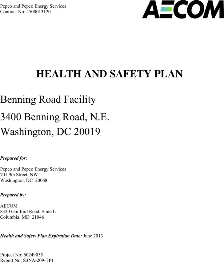 Safety Plan Template 2